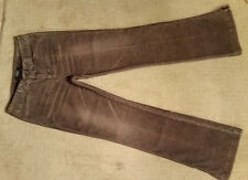 NEW! Supersoft Express Frosted Corduroy Semi-Flare Stretch Jeans/Pants Sz 1/2