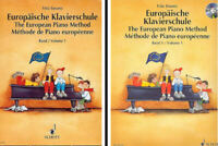 Europäische Klavierschule - Band 1 - mit oder ohne CD