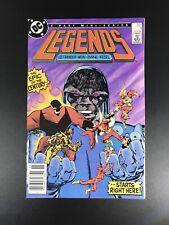 Legends #1 (Nov 1986, DC Comics) - News Stand Issue
