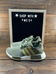 Adidas NMD_R1 'Legacy Green' FZ084 Womens Shoes- NEW