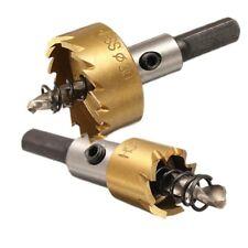 12 - 80 mm Hss Titanium Drill Bit Hole Saw Stainless Steel Metal Alloy Cutter UK