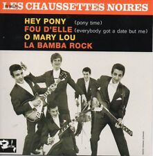 CD Single Eddy MITCHELL - Les CHAUSSETTES NOIRES  Hey Pony EP REPLICA  + RARE +