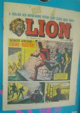 LION COMIC 27TH FEBRUARY1965 1960S LOT #10 A CLASSIC GROUNDBREAKING UK COMIC