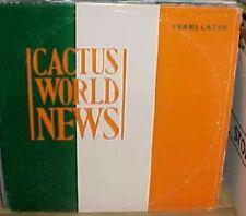 """Cactus World News Years Later 2 mixes - US DJ 12"""""""
