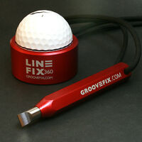 GROOVEFIX GROOVE SHARPENER & BALL LINE MARKER BUNDLE