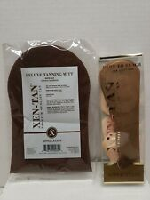 New XEN-TAN Applicator Kit Deluxe Tanning Mitt and Hard to Reach Back Applicator