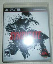 Syndicate Sony Playstation 3 2012 EA