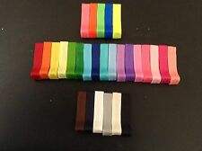 hair bow alligator clips partially lined  supplies U Pick Colors X 100 Lot