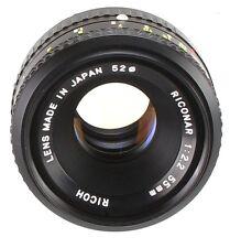 Ricoh 55mm 2.2 Lens Mount Pentax PK   (Réf#S-138)