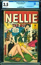 NELLIE THE NURSE 10 CGC 3.5 Timely 1947