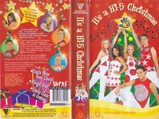 HI 5 ITS A HIGH 5 CHRISTMAS VHS VIDEO PAL~ A RARE FIND IN EXCELLENT CONDITION
