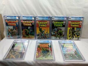 1972 DC Swamp Thing Vol. 1 Comic Lot CGC Graded