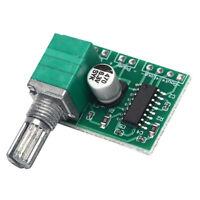 Mini PAM8403 Audio USB Power Amplifier Board DC5V 3W+3WDual Channel Amp Modul`BD