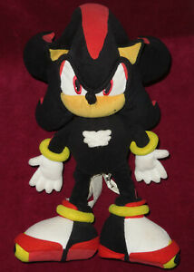 SHADOW THE HEDGEHOG SEGA EUROPE SONIC PRIZE 30cm PLUSH TOY PRIZE UFO GAME UK