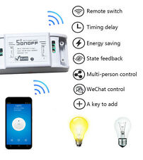 Sonoff  WiFi Wireless Smart Switch Module ABS Shell Socket for DIY Home