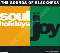 THE SOUNDS OF BLACKNESS SOUL HOLIDAYS/JOY CD SINGLE UK 1992 PERSPECTIVE RECORDS
