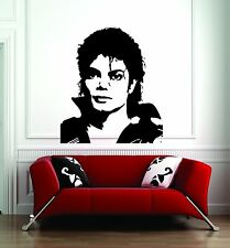 Wall Sticker Decal Vinyl Decor Michael Jackson moonwalk King of Music