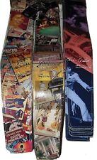 "Elvis Presley 3.5"" High Resolution Vinyl On Leather Guitar Strap"