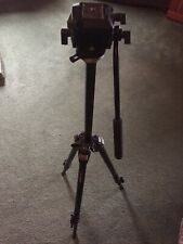 Shooting Tripod Manfratto-Bogen 3011Bn with 701Rc2 Fluid Head