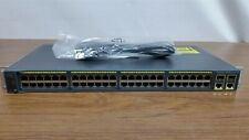 Cisco Catalyst 2960Si Series 48-Port Managed Switch(Ws-C2960-48Tc-S)2+ Gig Sfp