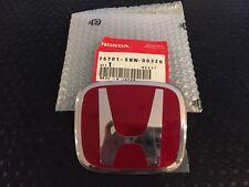 JDM GENUINE HONDA CIVIC FD2 TYPE R REAR H EMBLEM SILVER TRIM 75701-SNW-003ZD