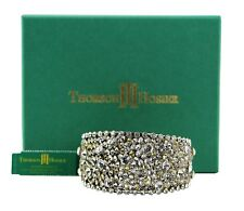 THORSON HOSIER MULTI CRYSTALS CUFF BRACELET SWAROVSKI NEW $395 USA ORIGINAL BOX