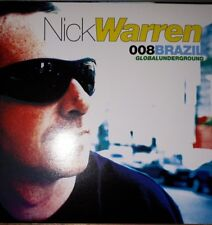 "Nick Warren ""Globalunderground: 008 Brazil"" * 2xCD / GU008CD"