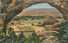 1940s Window Rock Arizona Central Navajo Indian Agency birdseye Teich 10404