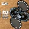 """CT Sounds Strato 6x9"""" 2Way Silk Dome Full Range Coax Car Coaxial Speakers (Pair)"""