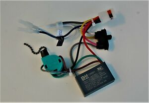HUNTER CEILING FAN NEW PARTS -0403 WIRING HARNESS(CAPACITOR/REV.SW./POWER SWITCH