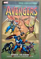 Avengers Epic Collection Vol 4 Behold The Vision Comics Marvel TPB Paperback