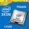 PAIR OF 2x Intel Xeon L7455 2.13GHz Socket PGA604 CPU Processors (SLBMS)