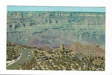 Aerial View of The Watchtower- Grand Canyon, Grand Canyon Nat'l Park, AZ.