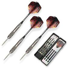 Oladwolf 3 Pack Steel Darts Set Tungsten 26 Grams With Aluminum Shafts and 3 STY