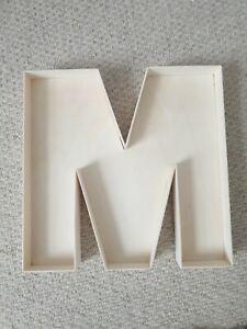 22cm Wooden Fillable Letters