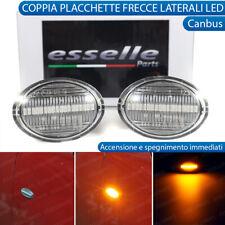 COPPIA FRECCE LATERALI INDICATORI A LED PER ABARTH FIAT 500 595 500C CANBUS