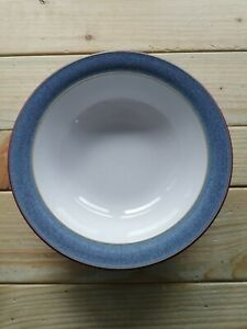 DENBY STORM 7 INCH CEREAL BOWL PLUM EDGE