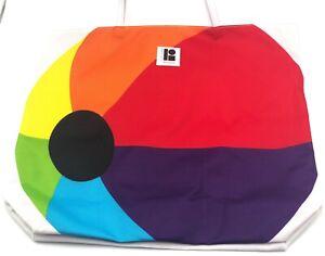 Lot of 2:  Lisa Perry  Estee Lauder Beach ball  Cosmetic Bag Tote