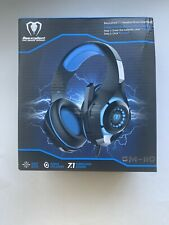 Beexcellent GM-110 7.1 Surround Sound Gaming Headset - Blue New