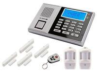 Olympia Protect 9571 Drahtlose Alarmanlage mit Notruf und Freisprechfunktion GSM