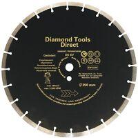 Diamanttrennscheibe 350 mm x 30 mm Universal Beton  - 10 mm Segment