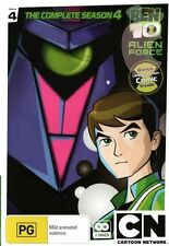 Ben 10 Alien Force - The Complete Season 4 (2 DVD Set) BRAND