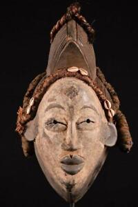 17026 African Old Punu Mask / Mask Gabon