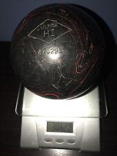 Ultra Hi rubber duckpin bowling balls 4&7/8 3lbs 6oz