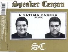 Speaker Cenzou – L'Ultima Parola (Remix) Cd Single NM 1996 Hip Hop