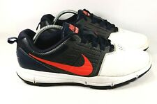 Nike Explorer Control Red White & Blue Golf Shoes Mens Size 10 (704694-102)