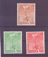 Berlin 1952 - Vor-Olympiade - MiNr. 88/90 postfrisch** - Michel 30,00 € (331)