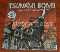 Tsunami Bomb The Definitive Act White Vinyl Record LP New Sealed Limited to 500
