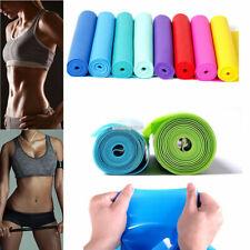 1X 1.5m Yoga Pilates Elastic Stretch Resistance Loop Band Exercise Fitness Belt
