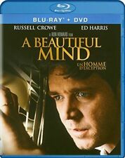 A BEAUTIFUL MIND (Blu-ray + DVD) Russell Crowe NEW Sealed, Free Shipping